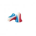 Max® Earplug, 33 dB, Red/White/Blue