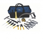 18in Large Mouth Bag Tool Kit, 16 pc.