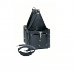 Ultimate Tool Carrier w/ Strap, Premium Black Leather