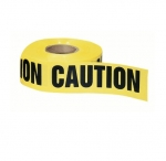 "3"" x 1000', Barricade Tape, Caution, 2 Mils, Yellow"