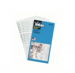 Assorted 0-9 Wire Marker Booklet, 45 each