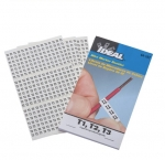 Assorted T1,T2,T3 Wire Marker Booklet, Pack of 150