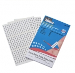 Assorted 1,2,3,ABC, T1-T3, L1-L3 Wire Marker Booklet