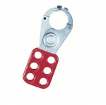 Safety Lockout Hasp, 1in Jaw, 3/Card