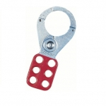 Safety Lockout Hasp, 1.5in Jaw, 3/Card