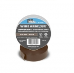 "3/4"" Color Coding Electrical Tape, 66' Roll, Brown"
