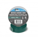 "3/4"" Color Coding Electrical Tape, 66' Roll, Green"