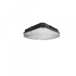 40W LED Canopy Light Fixture, 150W Retrofit, Dimmable, 5093 lm, 4000K, Bronze