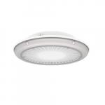 75W LED UFO Parking Garage Light, Narrow, 9546 lm, 340V-480V, 3000K