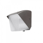 30W Small LED Wall Pack, Semi-Cut Off, Dimmable, 100W MH Retrofit, 4203 lm, 5000K