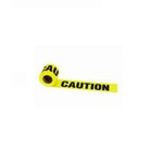 300 Feet of 3 Inch Yellow Caution Tape With Bold Black Font