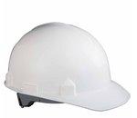 White Polyethylene Hard Safety Hat And Cap