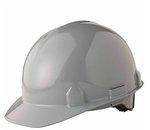Gray SC-6 4-Pt. Ratchet Hard Hat