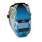 WH40 Insight Variable ADF Welding Helmet, Blue & Gold Wings
