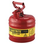 "2 Gallon 9 1/2"" Galvanized Steel Type 1 Safety Can"