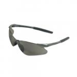 Safety Glasses w/ Clear Anti-Scratch Lens & Gunmetal Frame