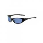 Anti-Scratch Safety Glasses, Light Blue Lens, Black Frame
