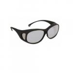 V50 OTG Anti-Scratch Safety Glasses, Clear Lens, Black Frame
