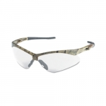 Safety Glasses w/ Clear Anti-Scratch/Anti-Fog Lens & Camouflage Frame