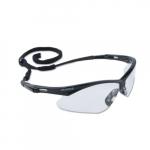 Safety Glasses w/ Clear Lens & Black Frame, Anti-Fog Lens