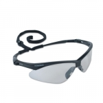 Safety Glasses, Indoor/Outdoor Lens, Anti-Scratch, Black Frame