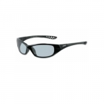V40 Safety Glasses, Indoor/Outdoor Lens, Black Frame