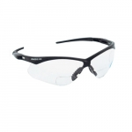 Safety Glasses, 1.0 Diopter, Anti-Scratch Lens, Black