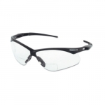 Safety Glasses, 2.0 Diopter, Anti-Scratch Lens, Black