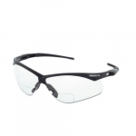 Safety Glasses, 2.5 Diopter, Anti-Scratch Lens, Black