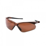 Safety Glasses, Anti-Scratch/Polarized Lens, Brown