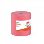 Large Multi-Purpose Wipes, Unscented, 475 Wipes Per Roll, Red