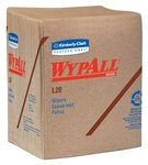 WypAll L20 Brown Disposable Wipers