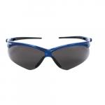 Safety Glasses, Smokey Anti-Foglic Lens & Blue Frame