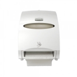 Electronic Towel Dispenser, White