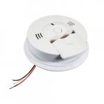 120V CO & Smoke Alarm w/Voice, Ionization Sensor, Front Load Battery