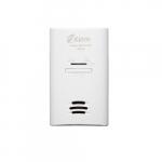 120V AC Plug-In Carbon Monoxide Alarm w/ Battery Backup, Theft-Deterrent, 2 Pack