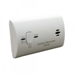 DC Powered Battery Operated Carbon Monoxide Alarm, 2AA Included, 6 Pack