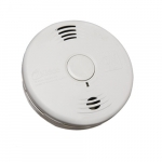 DC Combination Smoke and Carbon Monoxide Alarm w/Voice, 10 Yr Sealed Battery, Clamshell
