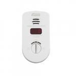 120V AC Plug-In Carbon Monoxide Alarm w/ Battery Backup, Digital Display