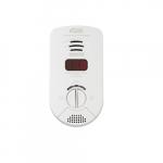 120V Bedroom Plug-in Carbon Monoxide Alarm, 10 Yr Sealed Backup, Digital Display, Voice