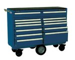 12 Drawer Gloss Blue Maintenance Pro Cart