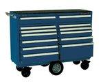 12 Drawer Gloss Blue Maintenance Pro Cart