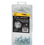 Drywall Anchor Kit with Plastic Anchors