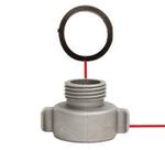 Siphon King Gas Powered Pump Replacement Garden Hose Adapter