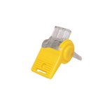 Blazing Clear/Yellow SnapLoc Wire Connector Valve Splice, Bag of 20
