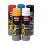 18 Oz Line-Up Pavement Aerosol Striping Paints, 12 Cans, Yellow