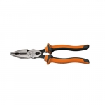 Insulated Combination Pliers, Orange & Gray
