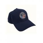 Blue Baseball Cap, Cotton, Velcro Strap