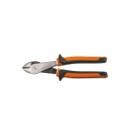 Insulated Diagonal Cutting Pliers with Angled Head, Orange & Gray