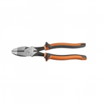 Insulated Heavy Duty Side-Cutting Pliers, Orange & Gray